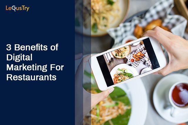 Digital marketing for restaurant | LeGusTry