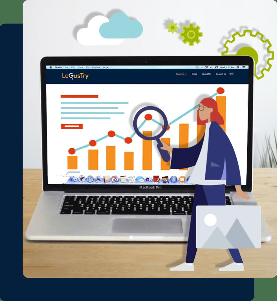 Custom Website of BizzCoinHub by LeGusTry